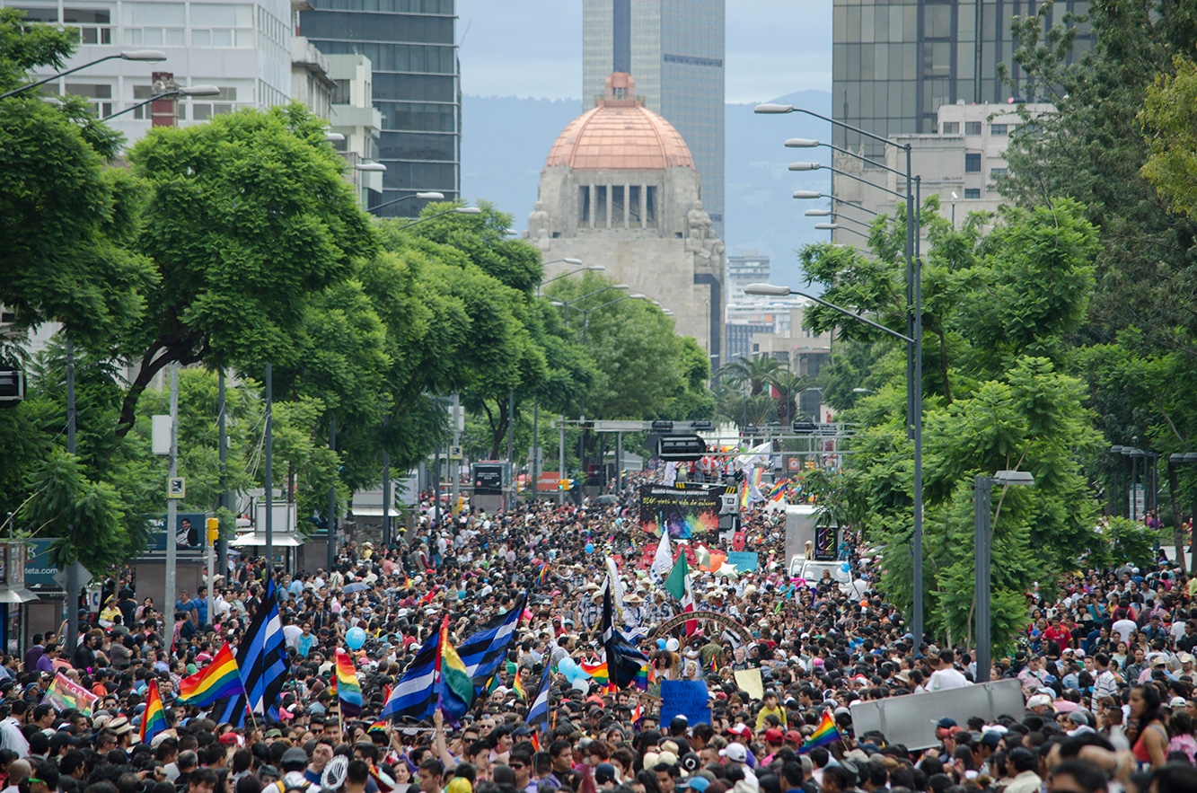 marcha gay mexico